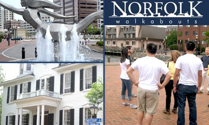 Norfolk Walkabouts - Hampton Roads: $6 for a Walking Tour of the Historic Town Point and Freemason Areas with Norfolk Walkabouts ($12 Value)