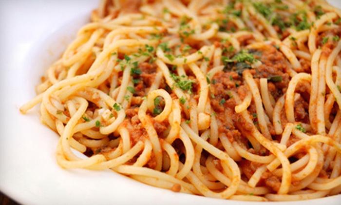 Villa Verde Café - Spring Hill: Italian Cuisine at Villa Verde Café in Spring Hill. Two Options Available.