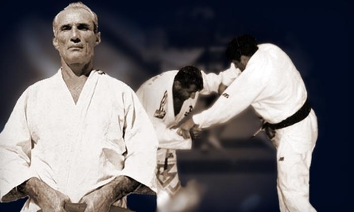 Gracie Jiu Jitsu Las Vegas - Multiple Locations: $39 for One Month of Unlimited Training at Gracie Jiu Jitsu Las Vegas (Up to $200 Value)