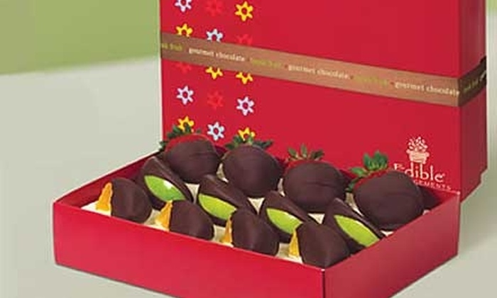 Edible Arrangements - Multiple Locations: $10 for a Box of Chocolate-Dipped Fruit at Edible Arrangements ($25 Value). Two Locations Available.