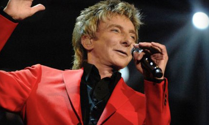 Barry Manilow - Saratoga Springs: One Ticket to Barry Manilow at the Saratoga Performing Arts Center in Saratoga Springs on August 25 at 7:30 p.m.