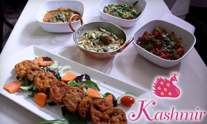 Kashmir - Back Bay: $15 for $30 Worth of Indian Cuisine at Kashmir