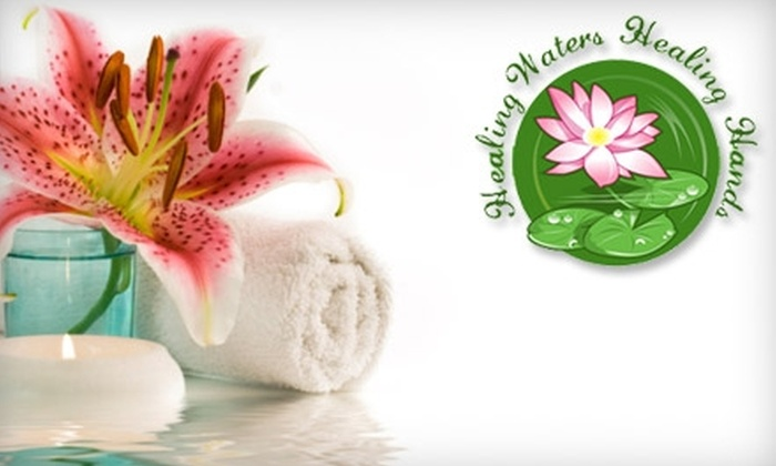 Healing Waters Healing Hands - Evans: $10 for 30 Minutes of Infra-Red Sauna ($25 Value) or $15 for an Ionic Foot Bath at Healing Waters Healing Hands ($30 Value)