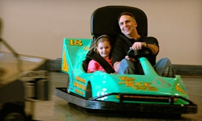 Knucklehead's Bowling & Indoor Amusement Park - Lake Delton: $18 for an Indoor Fun-Center Package at Knucklehead's Bowling & Indoor Amusement Park in Lake Delton ($37.45 Value)