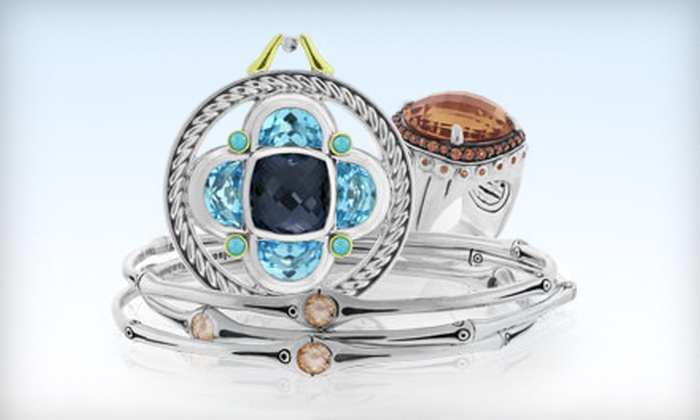 SweepStreet: $49 for $200 Worth of Jewelry from Designers such as Judith Ripka, David Yurman & John Hardy from SweepStreet