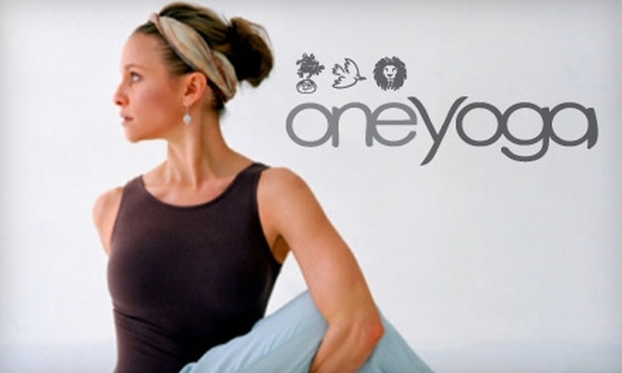 One Yoga - Nutana: $39 for One Month of Unlimited Classes at One Yoga ($120 Value)