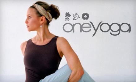 One Yoga - One Yoga in Saskatoon