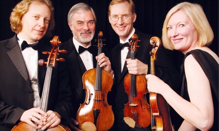 Oregon Mozart Players - West Eugene: $19 for One Section-A Seating Ticket for Performance by The American String Quartet on Sunday, May 15 at 2:30 p.m. (a $39 Value)