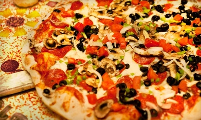 Geronte's Pizzeria - Evansville: $6 for $12 Worth of Pizza, Subs, and Drinks at Gerontes Pizzeria