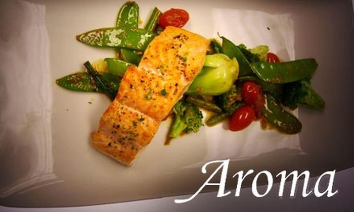 Aroma Restaurant and Sushi - Kenwood: $25 for $50 Worth of Asian Cuisine at Aroma Restaurant and Sushi