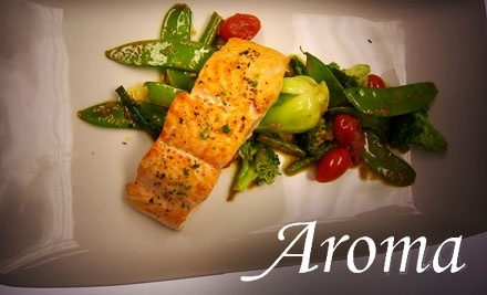 $50 Groupon to Aroma Restaurant and Sushi - Aroma Restaurant and Sushi in Cincinnati