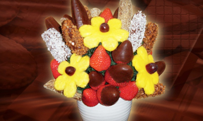 Saskatoon Blossoms - Saskatoon: $15 for $30 Worth of Fresh Fruit Arrangements from Saskatoon Blossoms