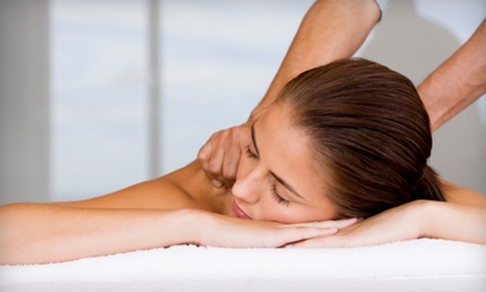 Garden Spa - Sharpstown: $105 for a 24K Gold Collagen Mask Facial, Shampoo and Style, and 30-Minute Massage at the Garden Spa ($210 Value)