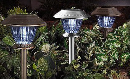 Westinghouse Set of 12 Premium LED Solar Lights: Bronze - Lamplust in