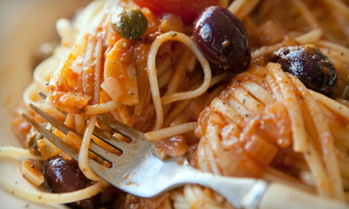 The Pizzeria - Downtown: $15 for $30 Worth of Pizza and Italian Fare at The Pizzeria in Durham