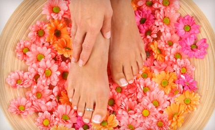 Serenity Day Spa and Gifts: Classic Manicure and Pedicure on Tuesday-Thursday - Serenity Day Spa and Gifts in Metairie