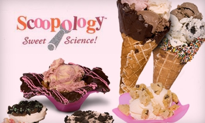 Scoopology - West Bountiful: $5 for $10 Worth of Treats, Sweets, Scoops, and Sandwiches at Scoopology