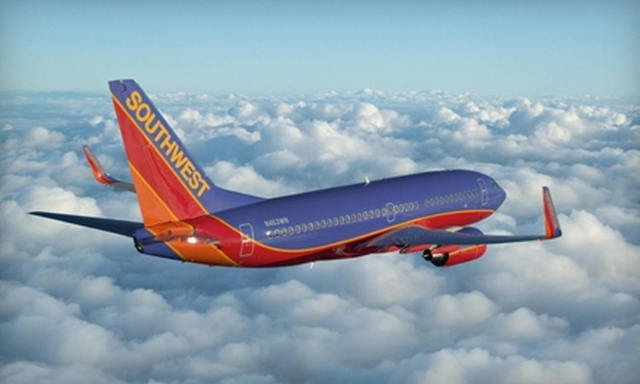 Southwest Airlines: $40 for $80 Toward a Wanna Get Away Roundtrip Ticket Between Newark and Any Southwest Destination from Southwest Airlines