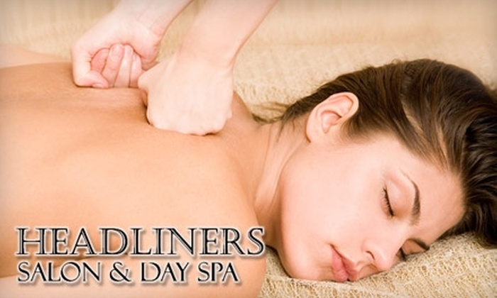 Headliners Salon and Day Spa - Jackson: $35 for One-Hour Swedish Relaxation Massage at Headliners Salon and Day Spa