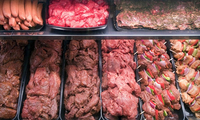 The Meat House - Multiple Locations: $10 for $20 Worth of Premium Meats at The Meat House. Seven Locations Available.