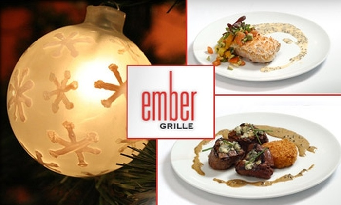 Ember Grille - Second Ward: $17 for Christmas Day Brunch at Ember Grille ($35 Value)