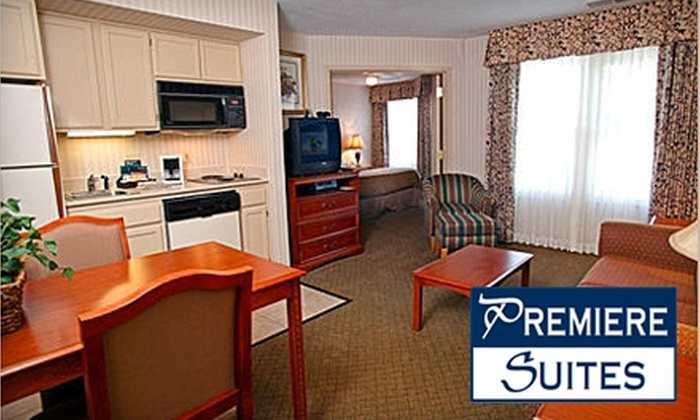 Premiere Suites Omaha - South Central Omaha: $55 for One Bedroom Suite at Premiere Suites Omaha (Up to $114 Value)