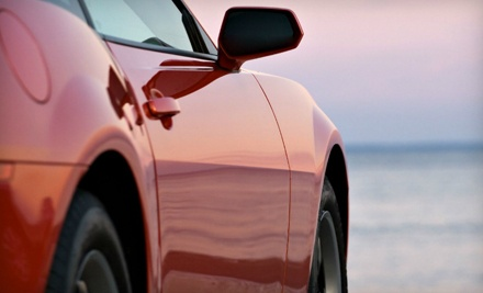 Executive Auto-Detailing Package for a Compact or Two-Door Car (a $120 value) - WaterLess Touch in