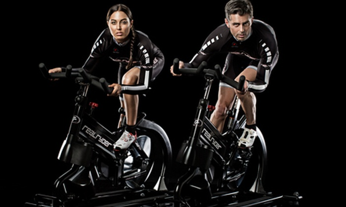 Spin Kicks Cycle and Fitness - Vaughan: One- or Three-Month Unlimited Membership with Group Classes and Locker at Spin Kicks Cycle and Fitness (Up to 75% Off)
