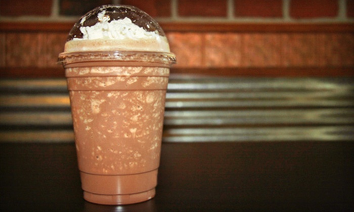 Lazy J Coffee - Forney: $5 Worth of Coffee and Organic Smoothies