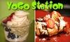 Yogostation - Oak Park: $5 for $10 Worth of Frozen Yogurt and Smoothies at YoGo Station in Oak Park