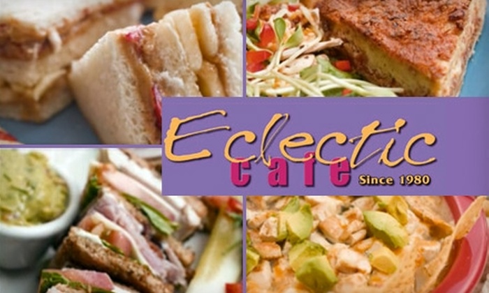 Eclectic Café  - Ward 2: $7 for $15 Worth of Fresh Fare and Drinks at Eclectic Café