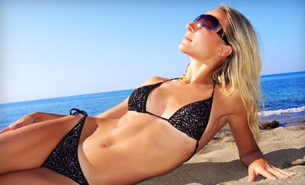 1 Playboy Glitz Sunless Tanning Package (a $62.50 value) - Glam Tanning Lounge in Surrey