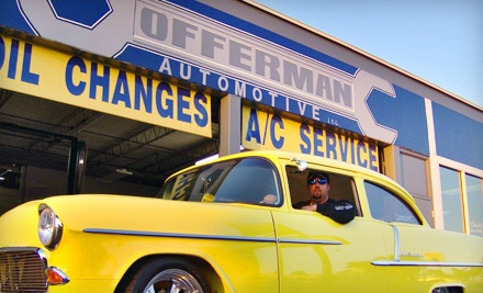 Standard Oil-Change Package (a $55 value) - Offerman Automotive in Fort Myers
