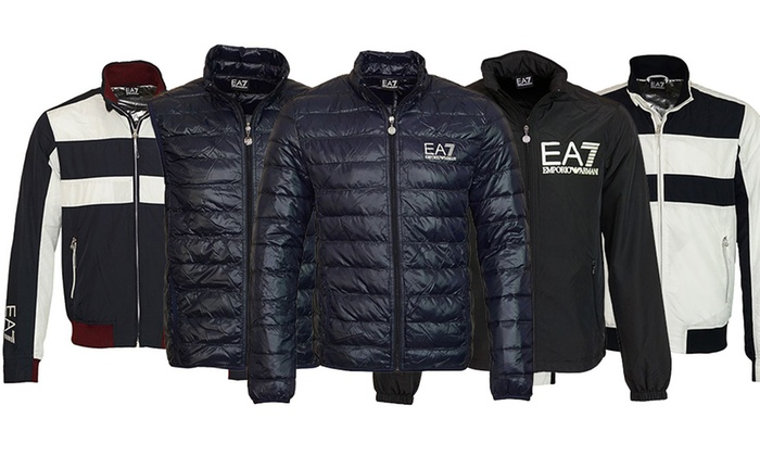 choose latest dependable performance discount sale Emporio Armani EA7 Jackets | Groupon Goods