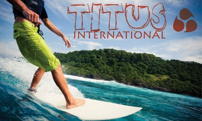 Titus International Surf School - Northeast Virginia Beach: $45 for a Three-Hour Group Surf Lesson from Titus International Surf School ($110 Value)