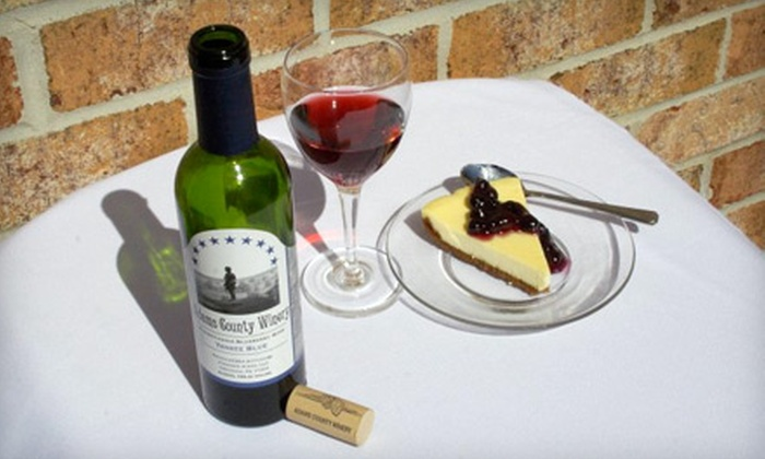 Adams County Winery - Orrtanna: $30 for Private Tour for Two at Adams County Winery in Orrtanna ($60 Value)