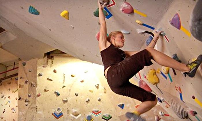 Rock City Climbing - Orange County: 10- or 20-Visit Rock-Climbing Package at Rock City Climbing in Anaheim Hills