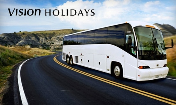 Vision Holidays - North Las Vegas: $79 for South Rim Grand Canyon Coach Tour from Vision Holidays