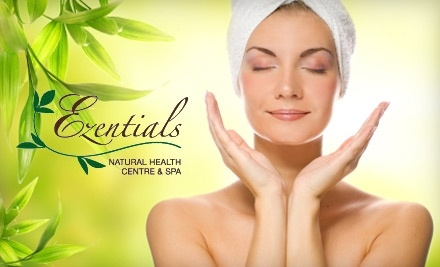 $50 Groupon to Ezentials Natural Health Centre and Spa - Ezentials Natural Health Centre and Spa in Hanmer
