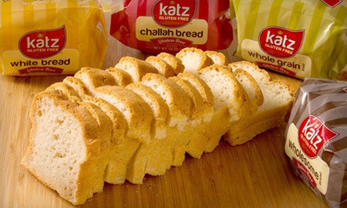 Katz Gluten Free: Gluten-Free Baked Goods and Cooking Ingredients from Katz Gluten Free (50% Off). Two Options Available.