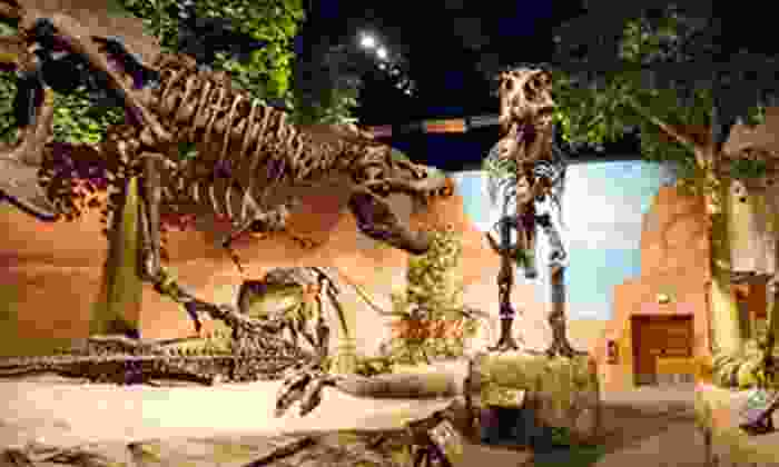 Thanksgiving Point - Lehi: Dinner and Dinosaurs, Junior Paleo, Museum and Movie, or Museum Visit for Two at Thanksgiving Point (Up to Half Off)