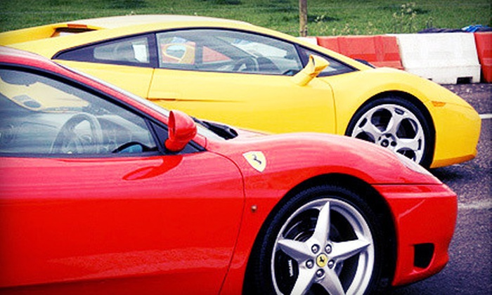 Exotic Car Tours - Cayuga: Exotic-Car Track Experience or Police-Car Chase Experience at Exotic Car Tours (Half Off)