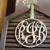 50% Off Monogram Wall Art