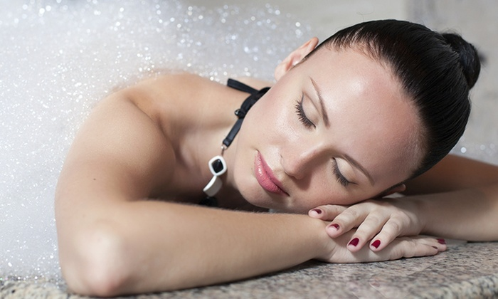 BotoxRN & MedSpa - Sugar Land: Vichy-Shower Package with Body Scrub for One or Two at BotoxRN & MedSpa (Up to 47% Off)