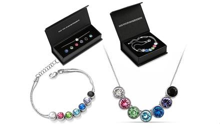 Pulseira, colar ou conjunto de pulseira e colar com Swarovski Elements intermutáveis desde 14,99€