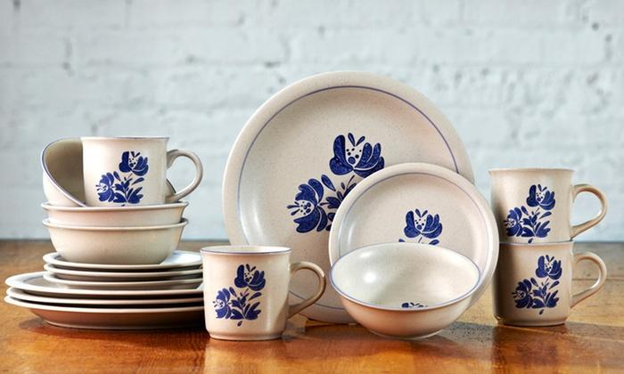 $39.99 for a Pfaltzgraff 16-Piece Dinnerware Set ... & Pfaltzgraff Stoneware Set | Groupon Goods