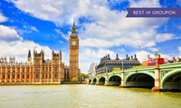 London: 1 or 2 Nights for Two People with Breakfast and Wine at Britannia International Hotel