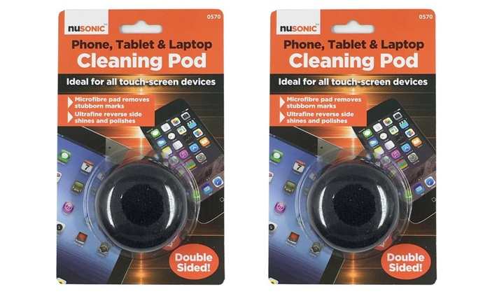 Groupon Goods Global GmbH: One or Two Touch Screen-Cleaning Pods