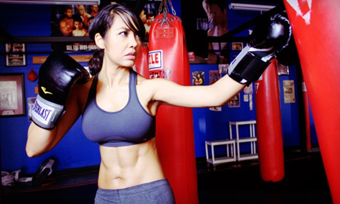 Fighter Physique - Remcon: 10 Kickboxing Classes or One Month of Unlimited Fitness Classes for One or Two at Fighter Physique (Up to 91% Off)