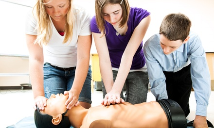 CPR, AED, and First Aid Certification Course for One or Two at The CPR ASAP Center (58% Off)